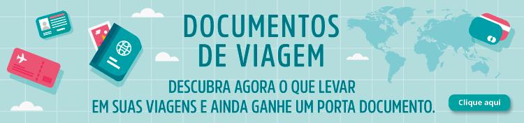 Banner com informações sobre a campanha de porta documentos